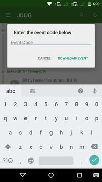 Dealer Solutions JDUG Summit apk screenshot