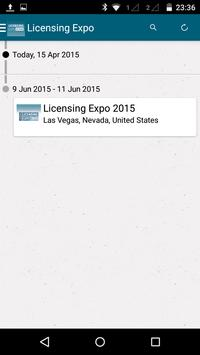 Licensing Expo 2015 apk screenshot
