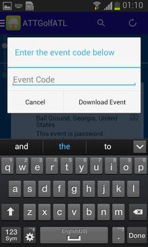 AT&T Atlanta Customer Golf apk screenshot