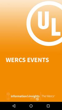 UL The Wercs Events poster