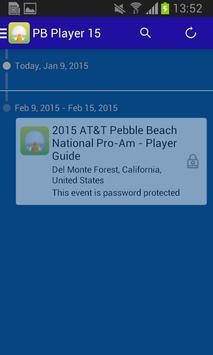 2015 Pebble Beach Player Guide apk screenshot