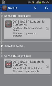 NACSA Leadership Conference apk screenshot