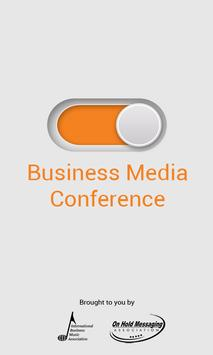 Business Media Conference App poster