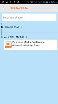 Business Media Conference App apk screenshot
