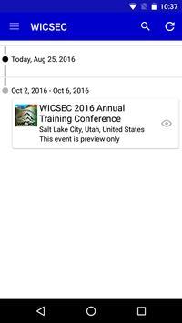 WICSEC apk screenshot