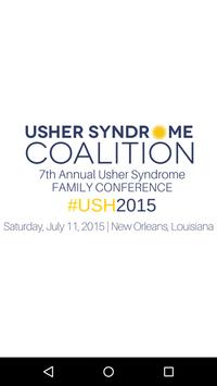 Usher Syndrome Coalition poster