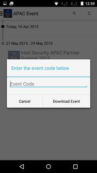 Intel Security Partner Summit apk screenshot