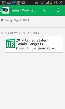 The Tennis Congress apk screenshot