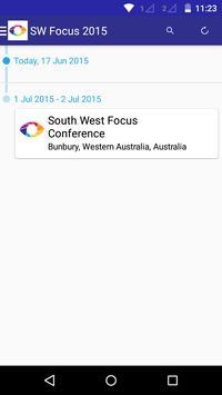 South West Focus Conference apk screenshot