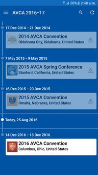 2016-17 AVCA Events apk screenshot