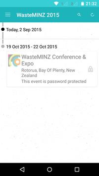 WasteMINZ Conference & Expo poster