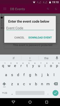 Dunkin' Brands Events apk screenshot