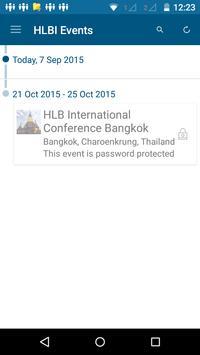 HLB International Conferences poster