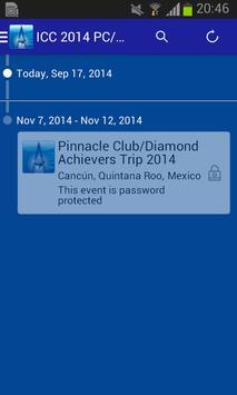 ICC 2014 PC/DA Trip apk screenshot