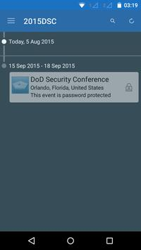 DoD Security Conference poster