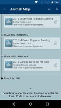 Aerotek Meetings poster