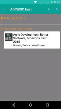 ADC|BSC|DevOps East 2015 apk screenshot