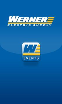 Werner Electric Supply WI poster