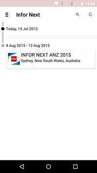 Infor Next ANZ 2015 apk screenshot