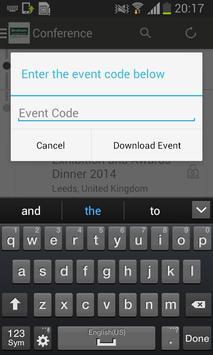 Graham Conference 2014 apk screenshot