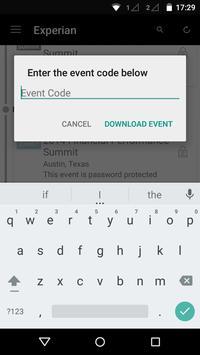 Experian Health Events apk screenshot
