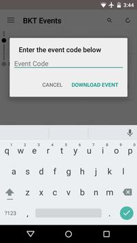 BKT Events apk screenshot