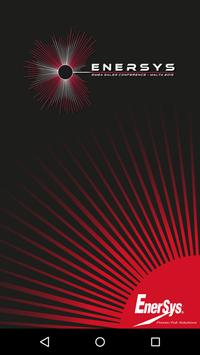 EnerSys EMEA Sales Conference poster