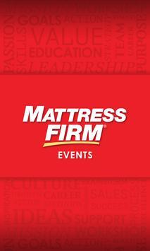 Mattress Firm Events poster
