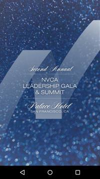 NVCA Leadership Gala & Summit poster