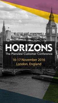 Planview Horizons Europe poster