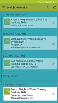 NeighborWorks America Training apk screenshot