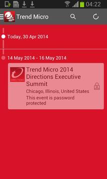 Trend Micro Events apk screenshot