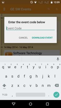 GE Software Events apk screenshot