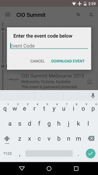 CIO Summit 2015 apk screenshot