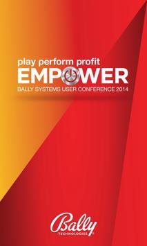 BALLY EMPOWER 2014 poster