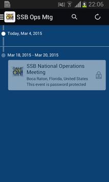 SSB Operations Meeting apk screenshot