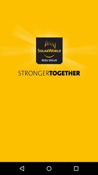 SolarWorld Americas - Events poster
