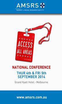 AMSRS 2014 App poster