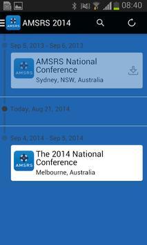 AMSRS 2014 App apk screenshot
