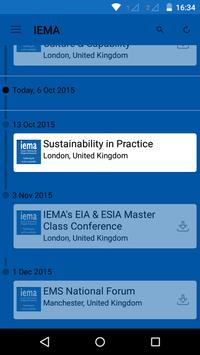 IEMA Delivering Sustainability apk screenshot