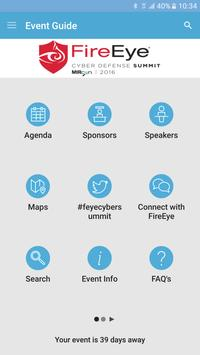 FireEye Cyber Defense Summit apk screenshot