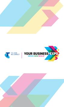 Telstra Your Business Expo poster