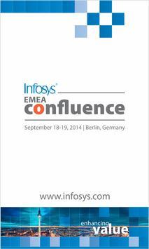 Infosys EMEA Confluence 2014 poster