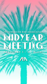 ABA Annual & Midyear Meetings poster