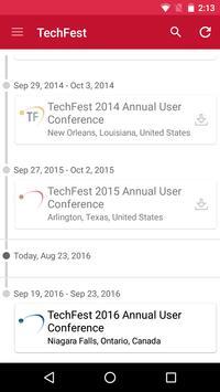 TechFest User Conference apk screenshot