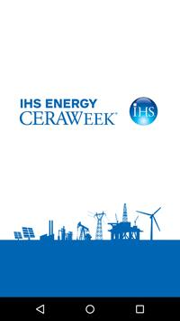 IHS Energy CERAWeek poster