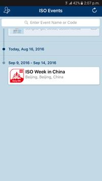 ISO Events apk screenshot