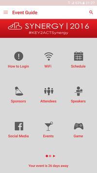 KEY2ACT Synergy 2016 apk screenshot