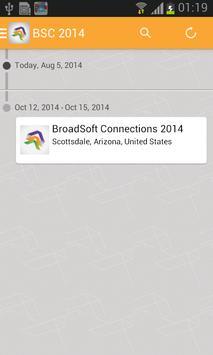 BroadSoft Connections 2014 apk screenshot