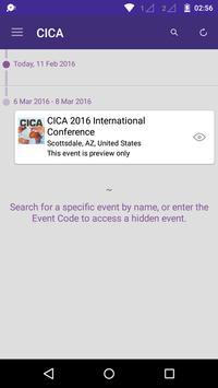 CICA International Conference apk screenshot